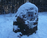 Höchster Stein im Winter